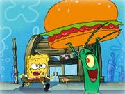 Sponge Bob and Krabsburger Secret