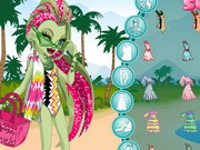 Monster High Swim Class Venus Dress Up